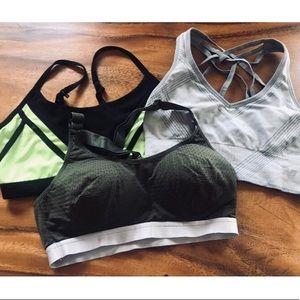 🤾♀️ 3/ $30 Sports Bra Bundle Size MED